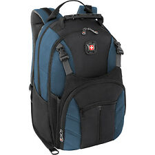 Wenger The SHERPA Laptop Notebook Computer Backpack Blue/Black