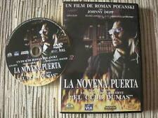 DVD PELICULA LA NOVENA PUERTA JOHNNY DEPP USADA EN BUEN ESTADO