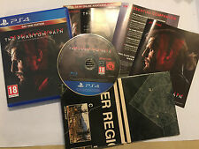 PLAYSTATION 4 PS4 GAME METAL GEAR SOLID V 5 THE PHANTOM PAIN COMPLETE DISC MINT