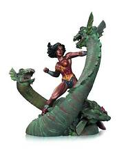Wonder Woman Vs. Hydra Patina Statue Dc Collectibles