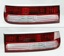 Red Clear Rear Tail Lights FITS 90-96 Nissan 300ZX Fairlady Z