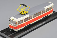 1/87 Atlas Tram Model T3 Nr.6102(Tatra)-1961 Diecast Car Model Truck Bus Figure