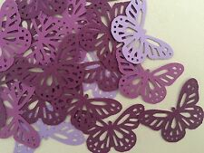 Martha Stewart Butterfly Punch Scrapbooking 50 Pcs Purple Tone Colour Cardstock