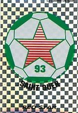 N°407 ECUSSON RED STAR 93 VIGNETTE PANINI FOOTBALL 96 STICKER 1996