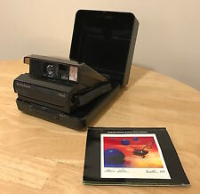 Polaroid SPECTRA ONYX Instant Camera Special Edition Clear Body with Case!