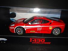 Hot Wheels Elite Ferrari F430 Challenge #14 1/18