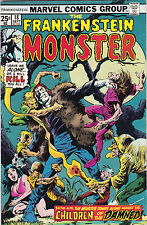 FRANKENSTEIN MONSTER #18 VF TO VF+