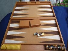 Vintage 1940 Crisloid Cardinal Bakelite Backgammon Brown Tortoise Butterscotch