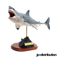 New KAIYOUKOUBOU Great White Shark Excellent Fish Carving figure Life to True