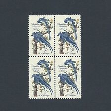 Audubon Society - Collie's Magpie Jays Mint Set of 4 Stamps 54 Years Old!