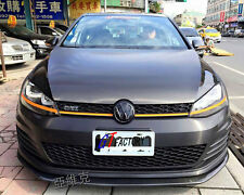 NEW FOR VW GOLF 7 MK7 GTI ONLY CARBON FRONT LIP SPOILER