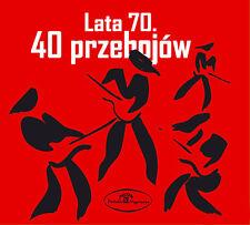2CD Lata 70 40 przebojów *  KLAN  GRECHUTA  KOMBI