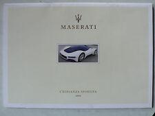 Prospekt Maserati Coupe/Spyder, Gransport, Quattroporte, Sport etc., 2006, 26 S.
