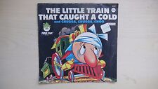 RARE Peter Pan Records THE LITTLE TRAIN THAT CAUGHT A COLD 45rpm 60s