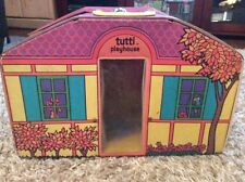 Vintage Barbie CollectorTutti Doll and Friends Playhouse House Case Trunk 1960s