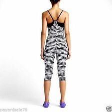 Nike sz XS Crisscross Training Bodysuit Jumpsuit Leotard w Bra NEW $105 650855