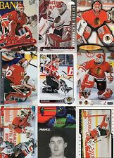 9-ed belfour chicago blackhawks card lot nice mix