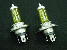 9003 H4 HIGH/LOW XENON HALOGEN FOG DRIVING AUTO LIGHT BULBS YELLOW