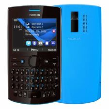 Nokia Asha 205 Cyan Dark Rose Single Sim QWERTY Tastatur Ohne Simlock NEU