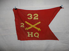 flag289 1960's US Army Guide On Artillery 32 Regiment 2nd Battery HQ
