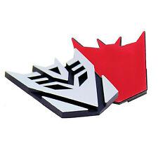 Transformers Decepticon 3D Logo Emblem Badge Decal Car Sticker
