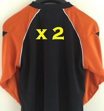 2 x Football Goalkeeper Shirt Goalie Goal Keeper Padded Elbow Manchester United