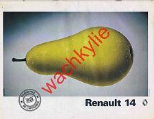 Point de vue n°1614 du 29/06/1979 Juan-Carlos Maroc Suisse Renault 14 Poire pub