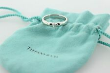 Tiffany & Co Etoile 0.22 D/VVS1 Solitaire Diamond Platinum Engagement Ring- 9.5