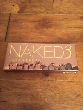 AUTHENTIC NEW IN BOX U/D NAKED 3 EYE SHADOW PALETTE BEAUTY