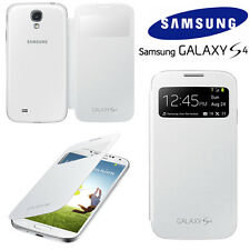 Genuine Samsung S VIEW FLIP CASE Galaxy S4 GT I9505 mobile cell phone book cover