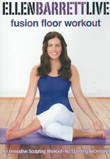 THE STUDIO BY ELLEN BARRETT LIVE FUSION FLOOR WORKOUT DVD NEW SEALED EXERCISE