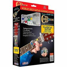 ChordBuddy Classical Ed. Guitar Learning System Including Book Dvd & Chord Buddy