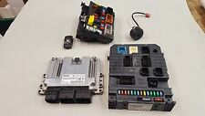 Peugeot 207 1.6 Petrol 5FW Auto Engine ECU BSI Set Kit 9663193580 9663798380