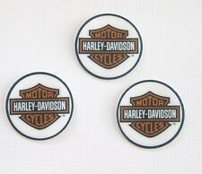 12 PRE CUT EDIBLE RICE WAFER PAPER CARD HARLEY DAVIDSON CUPCAKE CAKE TOPPER