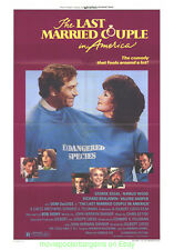 THE LAST MARRIED COUPLE IN AMERICA MOVIE POSTER 27x41 NATALIE WOOD 1980