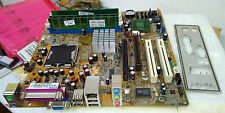 Asus P5GLV-MX LGA775 Motherboard with 1GB Memory & I/O Plate