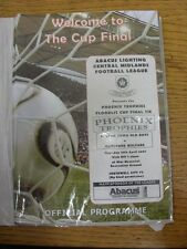 19/04/2007 Central Midlands League Floodlit Cup Final: Barton Town Old Boys v Cl
