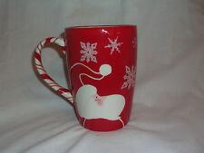 Clay Art Santa Claus Candy Cane Coffee Mug Cup