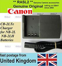 Cargador ORIGINAL CANON, CB-2LTe Legria HF R16 R17 R18 R106 VIXIA HG10 HV20 HV30