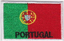 Aufnäher Bügelbild Iron on Patches Flagge Fahne Country Portugal (a4b6)