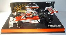 Emerson Fittipaldi McLaren M23 1:43rd Scale Model SIGNED