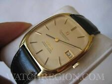 ULTRA RARE OMEGA 18K GF CONSTELLATION AUTOMATIC CHRONOMETER DATE WATCH SERVICED