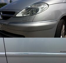 RUBAN BANDE CHROME 8 METRES IDEAL PEUGEOT 807 CITROEN C8