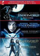Underworld/Underworld: Evolution/Underworld: Rise Of The Lycans 3-Pack...