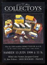 COLLECTOYS  2eme  vente de jouets anciens    12 juin 1998