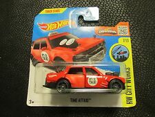 HOT WHEELS 2016 172/250 CITY WORKS 7/10 TIME ATTAXI  NEW ON SHORT CARD