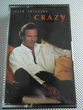 Julio Iglesias - Crazy - Cassette Single Tape Used very good