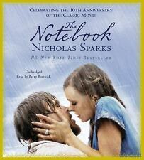 THE NOTEBOOK unabridged audio book on CD by NICHOLAS SPARKS