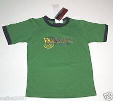 BNWT Designer Viper Boys Racing Green Short Sleeve T-Shirt Top Logo Age 6
