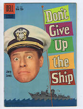 Don't Give Up the Ship F.C. # 1049 Dell Pub 1959 Jerry Lewis movie adaptation